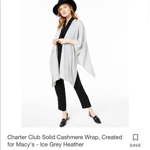 Charter Club Accessories - Cashmere Charter Club Luxury Wrap